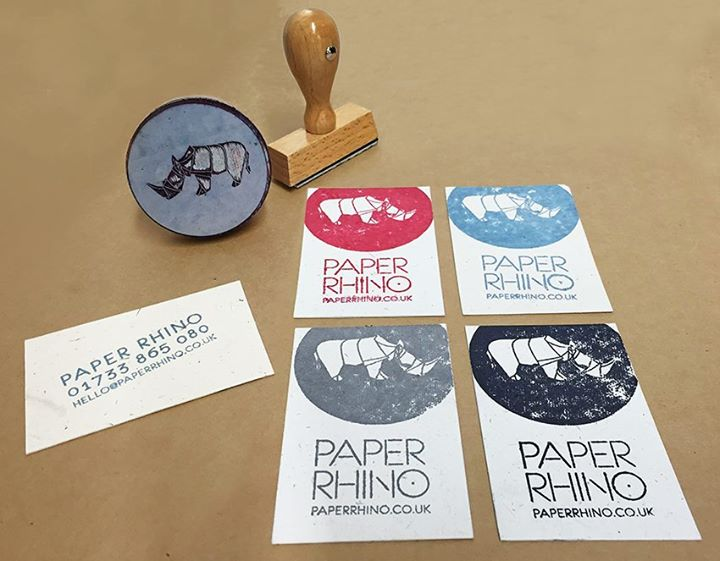 Paper Rhino New business cards