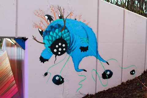 Underpass Project – The Green Backyard Monster