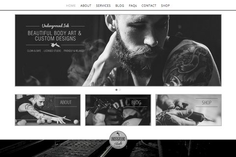 Underground Ink Website