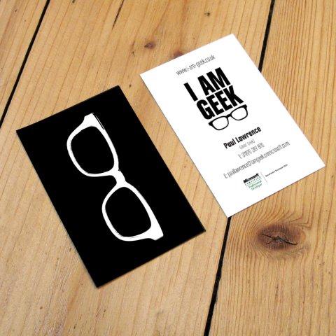 I Am Geek – Business Cards
