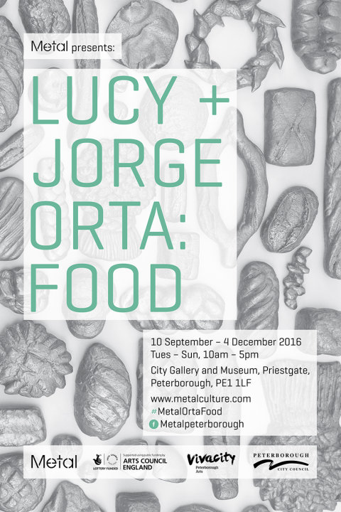 Lucy + Jorge Orta: Food – Flyer