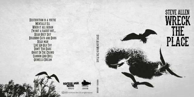 Wreck The Place – Front & Back Cover