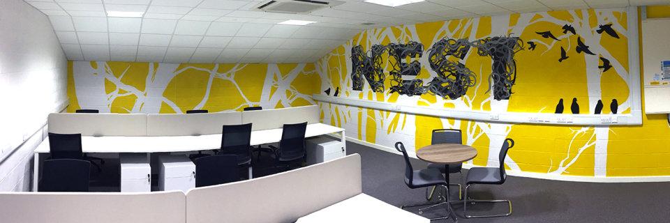 Nest – Office Mural