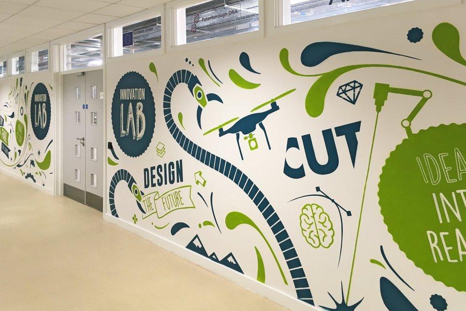 Innovation Lab Mural